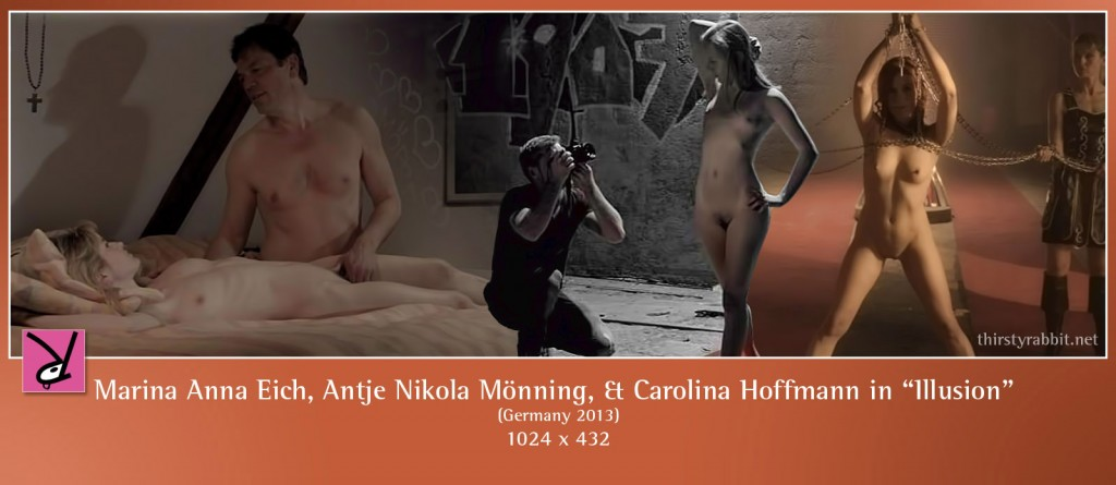 Marina Anna Eich, Antje Nikola Mönning, Carolina Hoffmann, Wolfgang Seidenberg, and others nude in Illusion