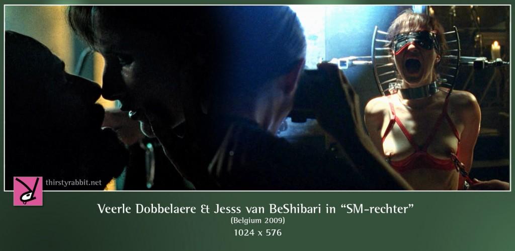 Veerle Dobbelaere and Jesss van BeShibari nude in SM-Rechter