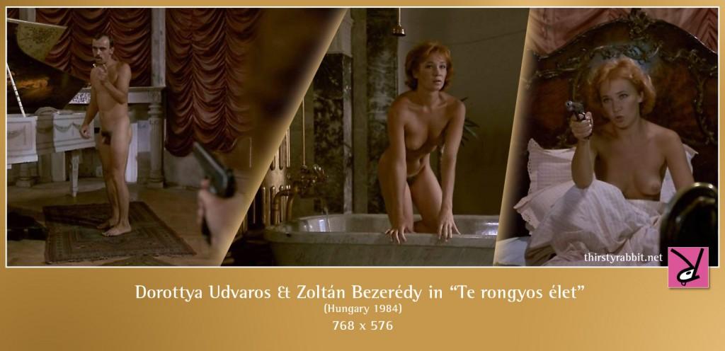 Dorottya Udvaros and Zoltán Bezerédy nude in Te rongyos élet aka Oh Bloody Life