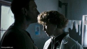 "Vera Farmiga and Thomas Kretschmann in ""In Tranzit"""