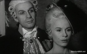Jarle Kulle and Bibi Andersson in Syskonbädd 1782