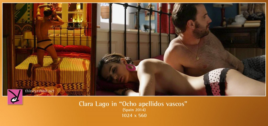 Clara Lago nude in Ocho apellidos vascos (2014)