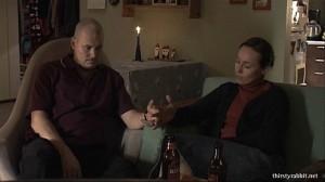 Janne Virtanen and Susanna Mikkonen in Frozen City