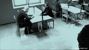 Janne Virtanen and Susanne Mikkonen in Valkoinen kaupunki