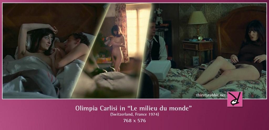 "Olimpia Carlisi nude in Alain Tanner's ""Le milieu du monde"" (1974)"