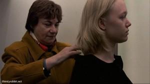 Frieda Pittoors and Charlotte Vanden Eynde in Meisje