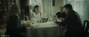 Robert Wieckiewicz and Julia Kijowska in Pod Mocnym Aniolem