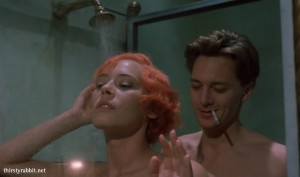 "Barbara De Rossi and Andrew McCarthy in ""Jours tranquilles à Clichy"""
