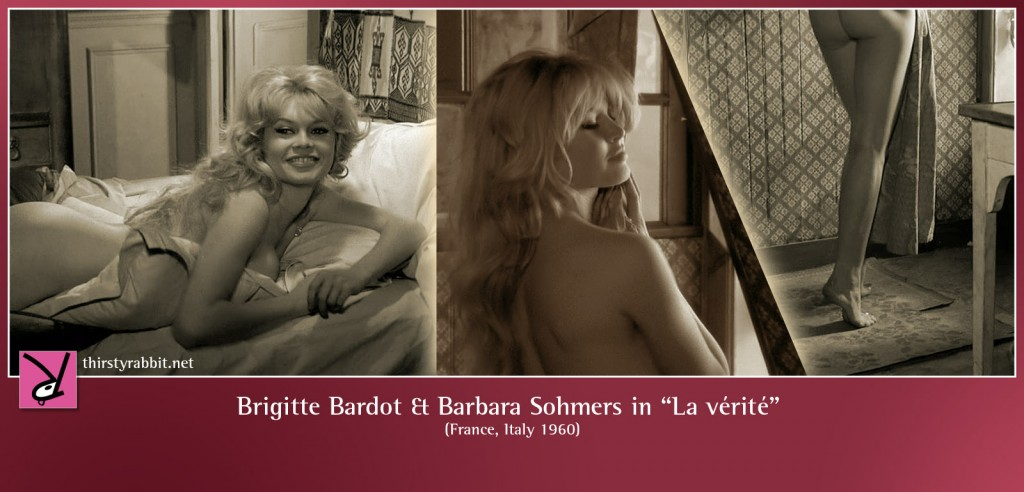 Brigitte Bardot nude in La vérité aka The Truth