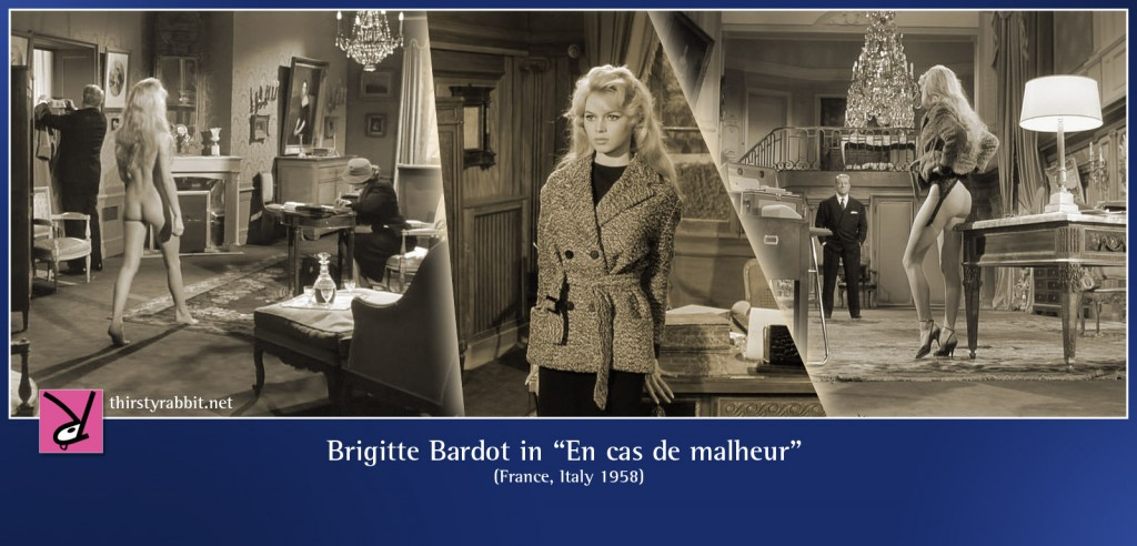 Brigitte Bardot nude in En cas de malheur