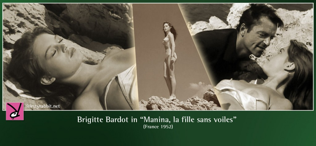 Brigitte Bardot nude in Manina, la fille sans voiles aka The Lighthouse Keeper's Daughter