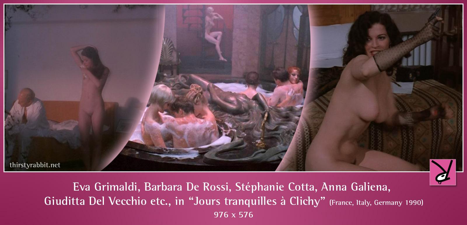 Eva grimaldi anna galiena barbara de rossi clichy - 2 part 3