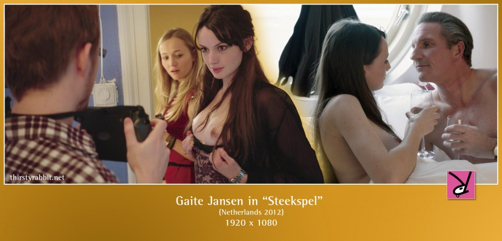 Scenes of a nude Gaite Jansen in Paul Verhoeven's Steekspel aka Tricked