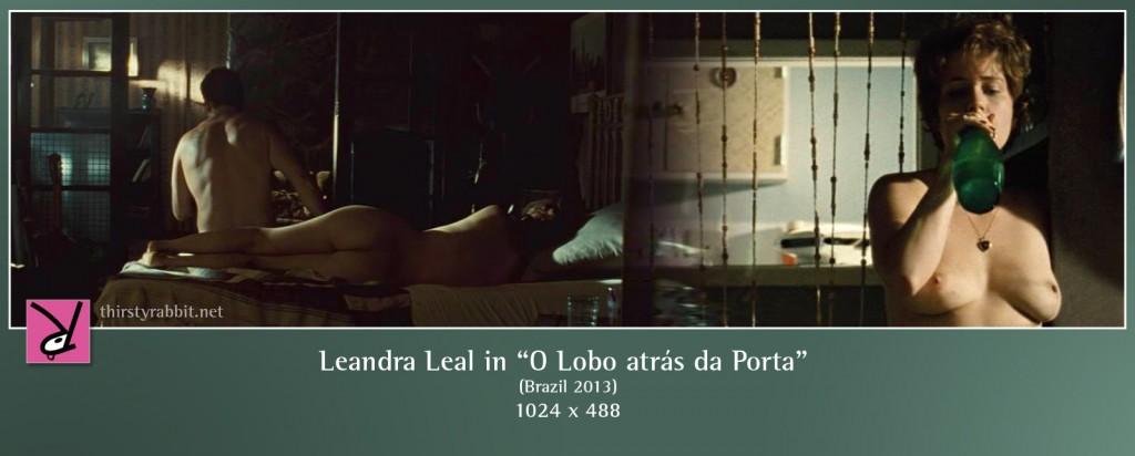 Leandra Leal nude in O Lobo atrás da Porta