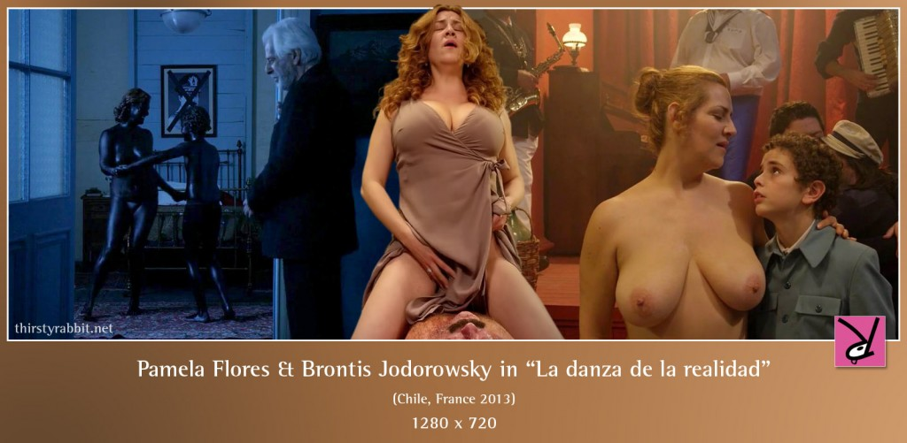 Pamela Flores and Brontis Jodorowsky nude in La danza de la realidad aka The Dance of Reality