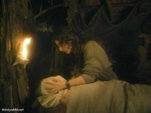Tamara Tana as Fiofaniya in Time of Darkness (1991 Russia)