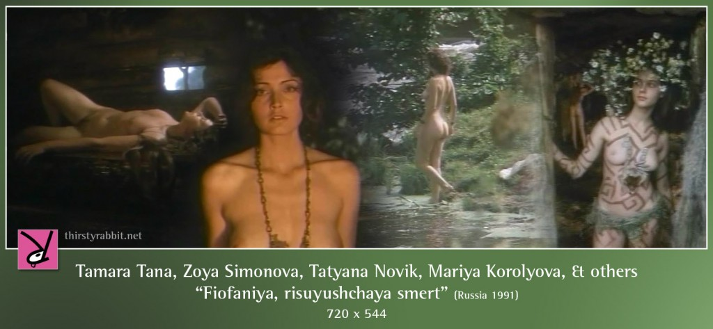 Tamara Tana, Tatyana Novik, Mariya Korolyova, Zoya Simonova and others nude in Time of Darkness, aka Fiofaniya, risuyushchaya smert