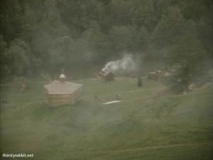 Scene from Fiofaniya aka Time of Darkness (1991 Russia)