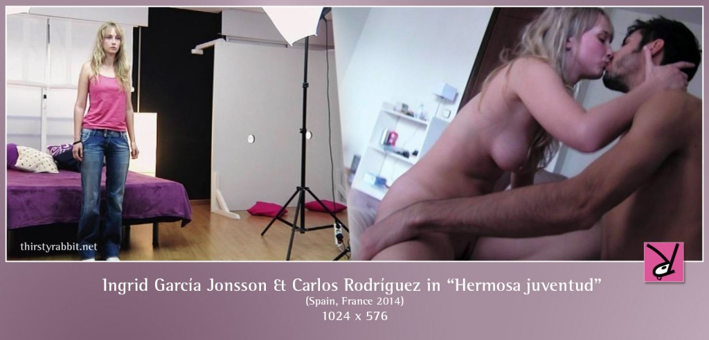 Ingrid García Jonsson and Carlos Rodríguez nude in Hermosa juventud aka Beautiful Youth