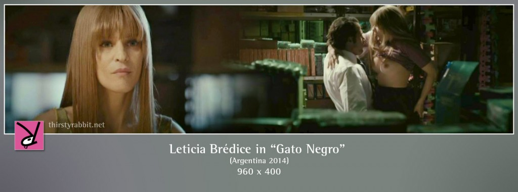 Leticia Brédice nude in the film Gato negro aka The Black Cat (2014)