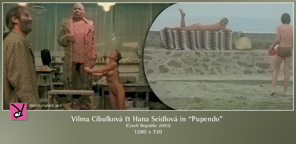 Vilma Cibulková and Hana Seidlová nude in Pupendo