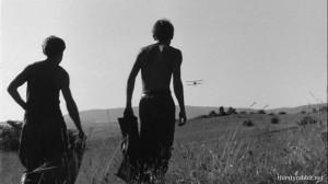 András Kozák and Sergey Nikonenko in Így jöttem [1965, Hungary]
