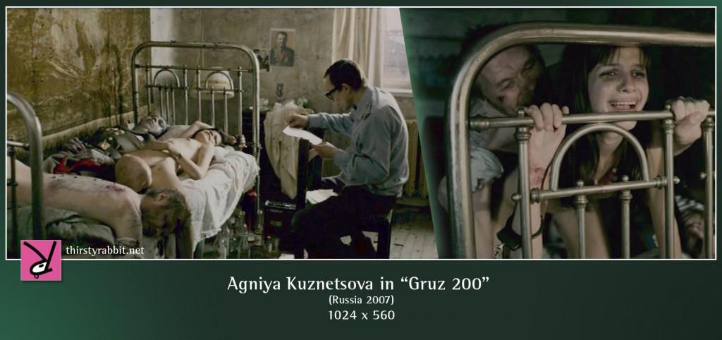 """Agniya Kuznetsova nude in """"Cargo 200"""" aka """"Gruz 200"""" (2007, Russia)"""