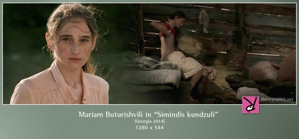 "Mariam Buturishvili nude in ""Simindis kundzuli"" aka ""Corn Island"" [2014, Georgia]"