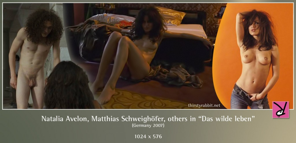 "Natalia Avelon, Matthias Schweighöfer, Alexander Scheer, Heike Warmuth, and others nude in ""Das wilde leben"" aka ""Eight Miles High"" [2007]"