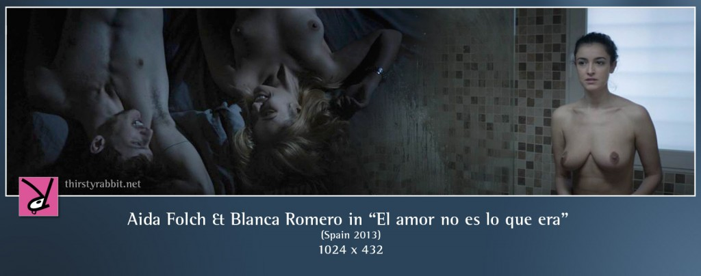 "Blanca Romero and Aido Folch in ""El amor no es lo que era"" aka ""Love Is Not What It Used to Be"" [2013, Spain]"
