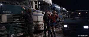 """Yana Novikova and Grygoriy Fesenko in """"Plemya"""" aka """"The Tribe"""" (2015)"""