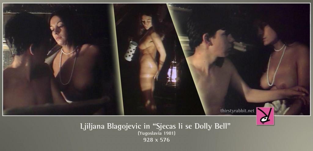 """Ljiljana Blagojevic and Slavko Stimac in Emir Kusturica's """"Do You Remember Dolly Bell?"""" [1981]"""