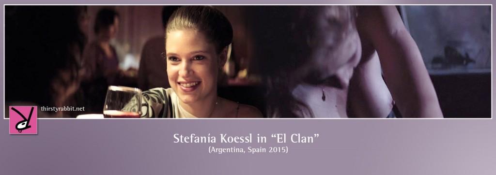 """Stefanía Koessl in Pablo Trapero's """"El Clan"""" (2015)"""