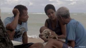 """Geová Manoel Dos Santos and Dandara de Morais in """"Ventos de Agosto"""" [2014 Brazil]"""