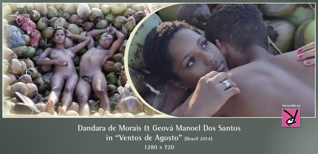 "Dandara de Morais and Geová Manoel Dos Santos in ""Ventos de Agosto"" aja ""August WInds"" (2014 Brazil)"