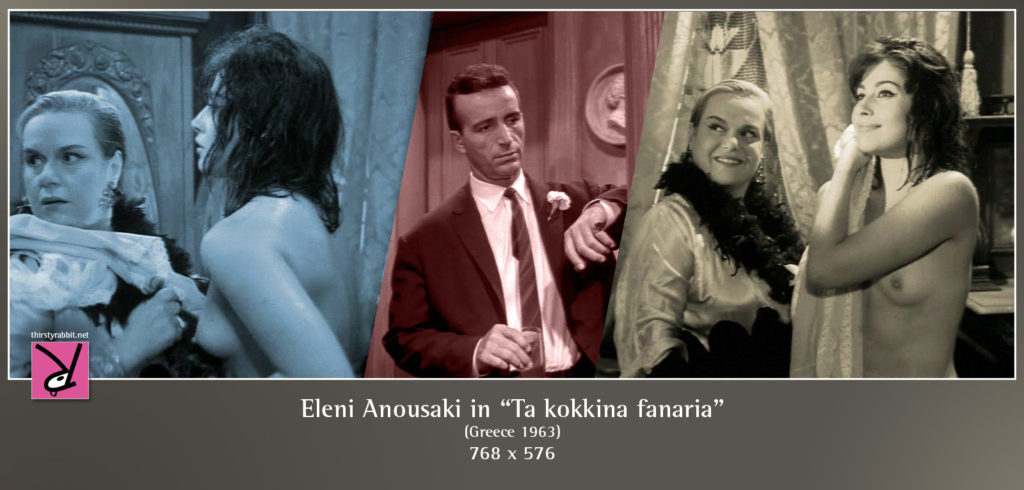 "Eleni Anousaki in the Greek drama, ""The Red Lanterns"" aka ""Ta kokkina fanaria"" [1963]."