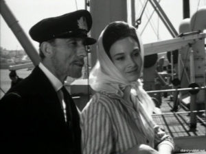 "Manos Katrakis and Alexandra Ladikou in ""Ta kokkina fanaria"" aka ""The Red Lanterns"" [1963]"