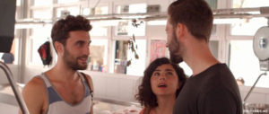 "Olivia Delcán, Tim Bettermann, and Lluís Marqués from ""Isla Bonita"""