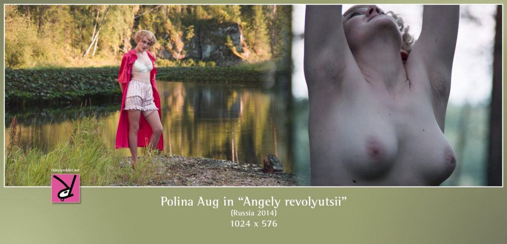 "Polina Aug in ""Angels of Revolution"" (Angely revolyutsii), Russia, 2014."
