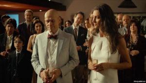 """Willem Dafoe and Maria Fernanda Cândido in """"My Hindu Friend"""" (Meu Amigo Hindu)."""