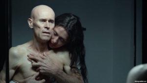 """Willem Dafoe and Maria Fernanda Cândido in """"My Hindu Friend"""" (2015)"""