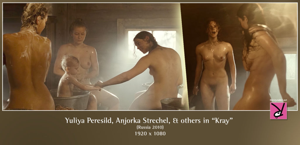 "Yuliya Peresild, Anjorka Strechel, and others nude in ""Kray"" aka ""The Edge"" (2010, Russia)"
