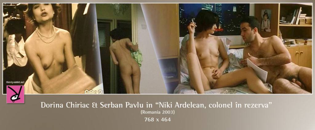 "Dorina Chiriac and Serban Pavlu from Lucian Pintilie's film, ""Niki and Flo"" (2003, Romania)."
