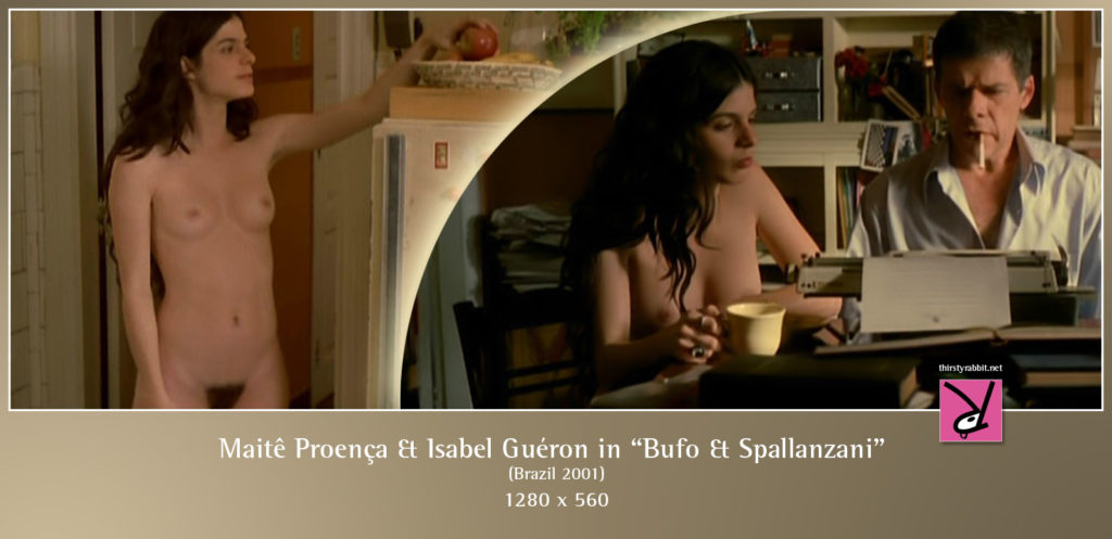 "Isabel Guéron in scenes from the Brazilian thriller, ""Bufo & Spallanzani"" (2001)"