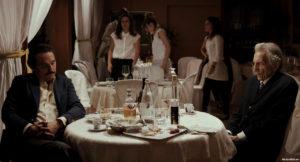 "Pier Girogio Bellocchio and Roberto Herlitzka in ""Sangue del mio sangue"" (2015 Italy)"
