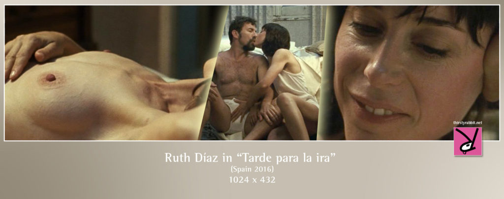 "Ruth Díaz from the Spanish thriller, ""Tarde para la ira"" aka ""The Fury of a Patient Man"" (2016)."