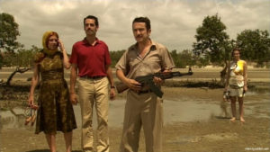 "Monica Calle, Filipe Duarte, and Adriano Luz in ""A Costa dos Murmúrios"" (2004)"