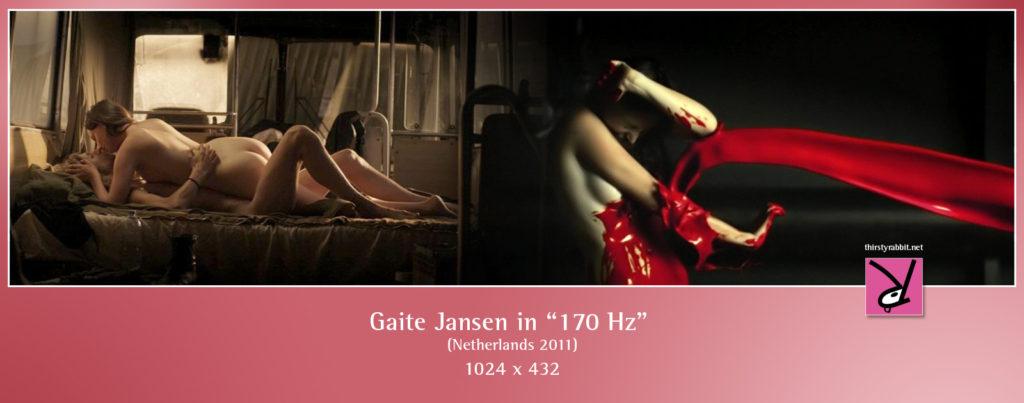 """Scenes of Gaite Jansen from the Dutch drama, """"170 Hz"""" [2011]."""