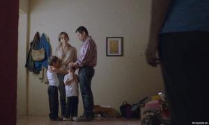 """Ruth Ramos and Jesus Meza in """"The Untamed"""" (La region salvaje) 2016"""