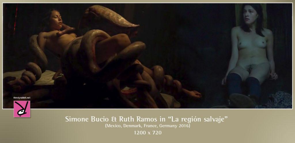 """Simone Bucio and Ruth Ramos star in Amat Escalante's sci-fi erotic thriller """"La región salvaje"""" aka """"The Untamed"""" [2016, Mexico]"""